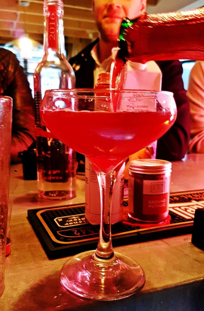 "Making ""Up Shit Kriek"" - Leeds Loves Cocktails Press Launch with BeckyBecky Blogs"