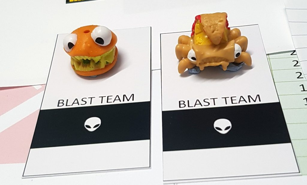 iBlast team - Lights in the Sky Megagame Report by BeckyBecky Blogs