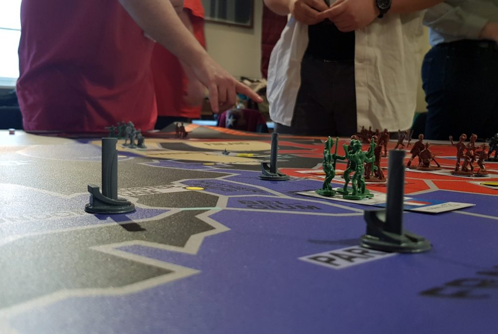 Pylons - Lights in the Sky Megagame Report by BeckyBecky Blogs