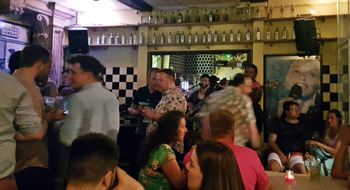 Live Fado music at Portas Largas - Food and Drink in Lisbon, review by BeckyBecky Blogs
