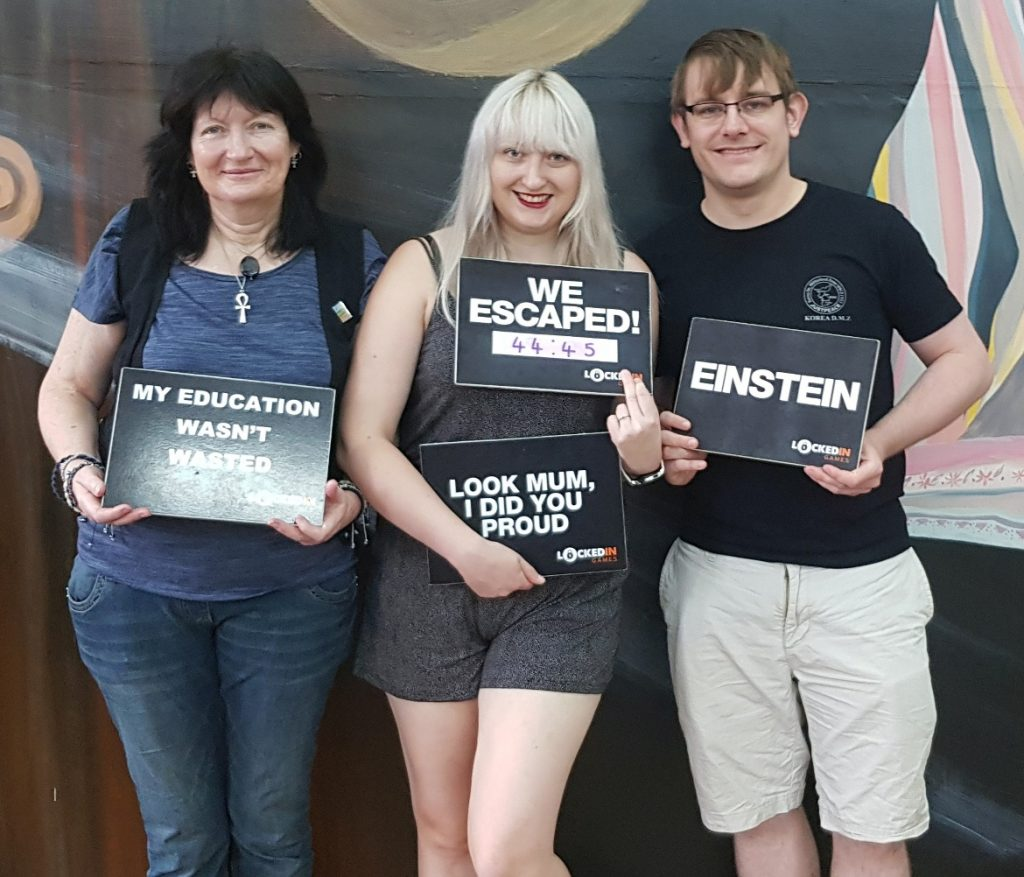 Success photo - American Die-ner at Locked In Games Leeds, escape room review by BeckyBecky Blogs