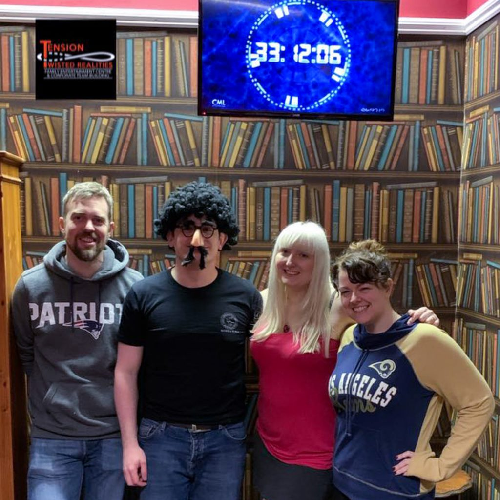 Success photo from Tension Twisted Realities - Magna Carta escape room by Tension Twisted Realities Lincoln, review by BeckyBecky Blogs