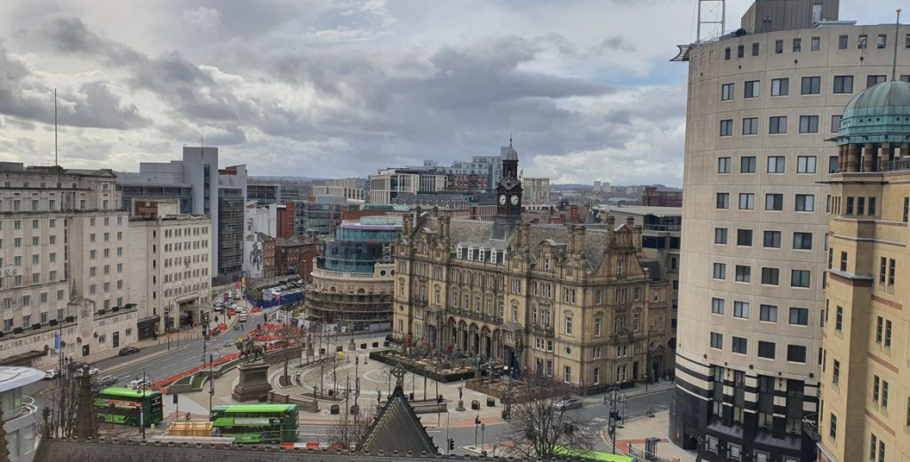 View from our new office - March 2020 Monthly Recap by BeckyBecky Blogs