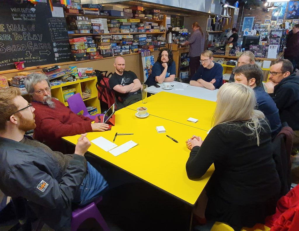 Pennine meeting at Geek Retreat Leeds - February 2020 Monthly Recap by BeckyBecky Blogs