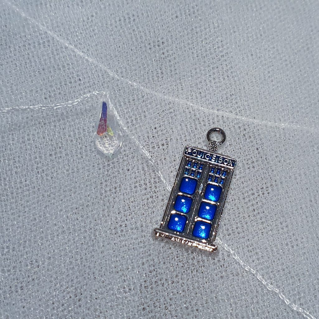 TARDIS bouquet charm - February 2020 Monthly Recap by BeckyBecky Blogs