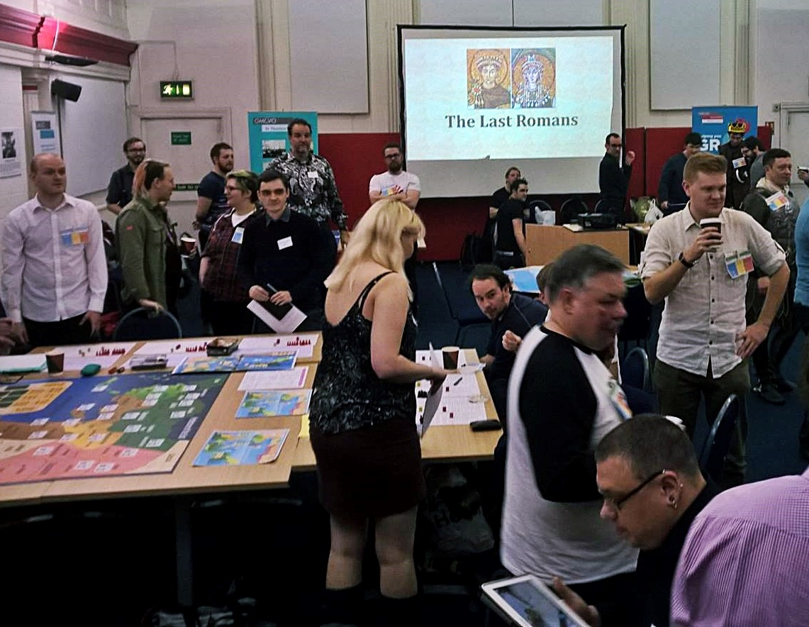 Last Romans megagame - Fifty Megagames by BeckyBecky Blogs