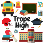 Trope High game concept - How to Write a Megagame Part 1: Choosing Your Concept by BeckyBecky Blogs