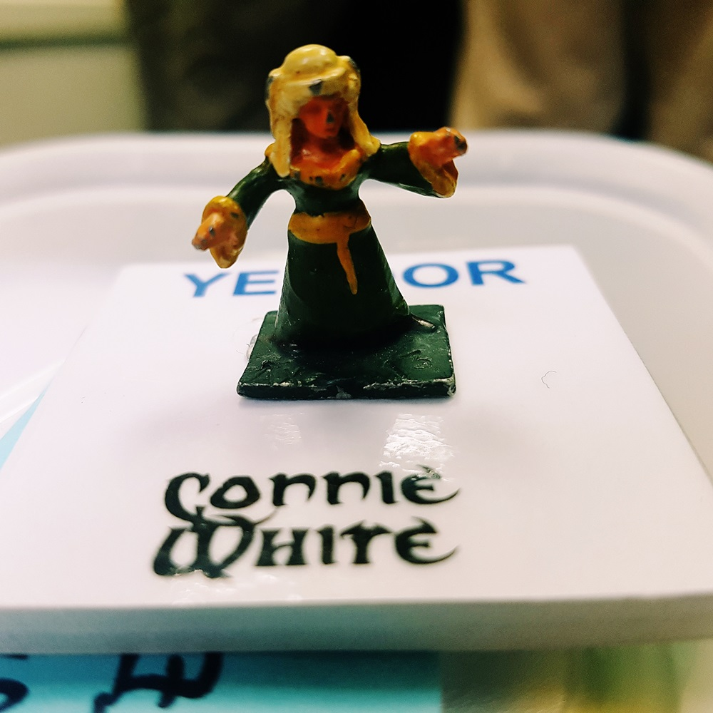 Connie White at the Dungeons of Yendor Megagame