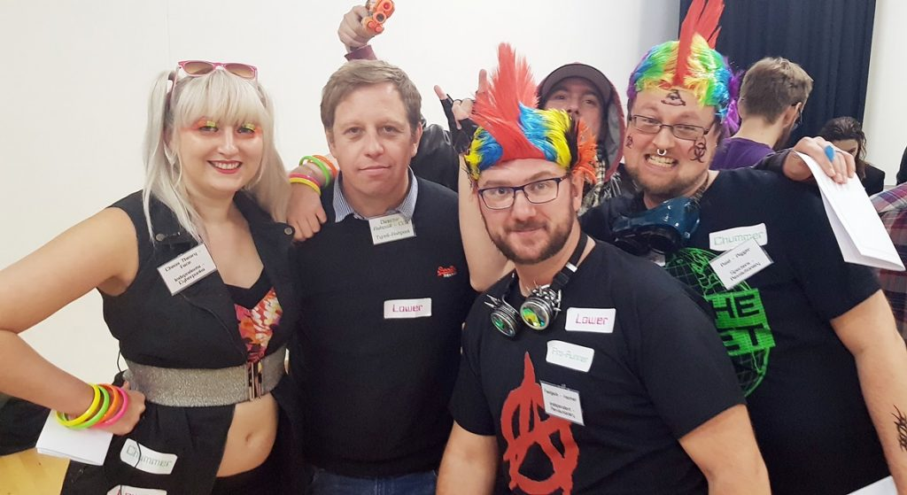 Mirrorshades, definitely not set in modern day UK - How to Write a Megagame, Part 5, Briefings