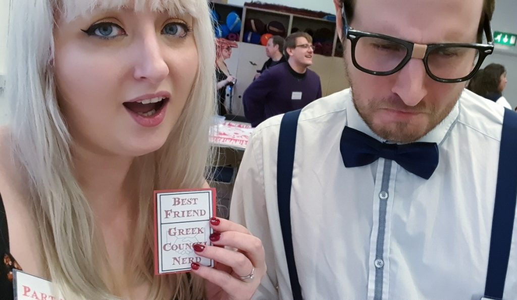 Me and the Nerd - Monsterville Mansion megagame report by BeckyBecky Blogs