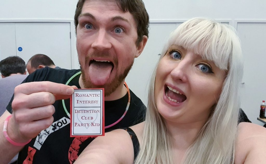 Me and my Boyfriend - Monsterville Mansion megagame report by BeckyBecky Blogs