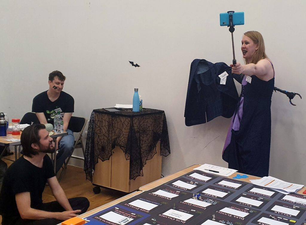 Interview with a Vampire - Monsterville Mansion megagame report by BeckyBecky Blogs