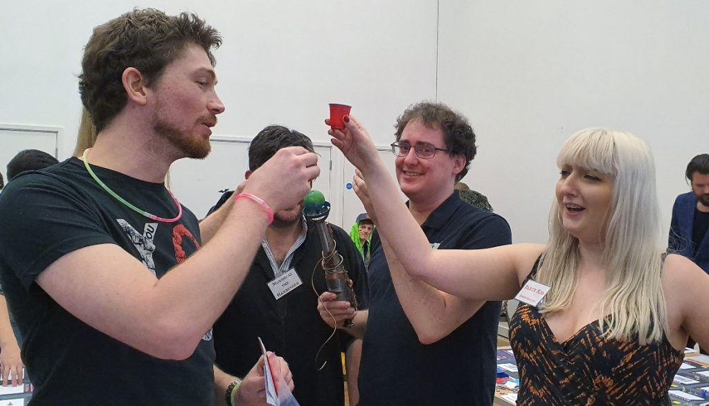 Sambuca - Monsterville Mansion megagame report by BeckyBecky Blogs