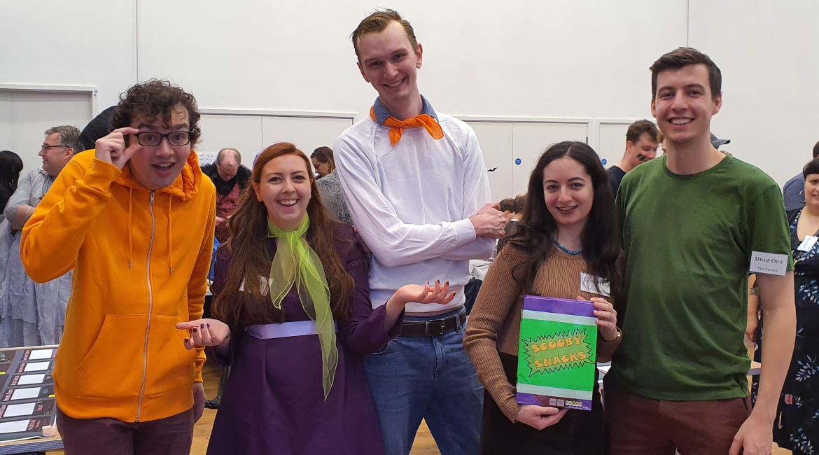 Monsterville Mansion megagame report by BeckyBecky Blogs