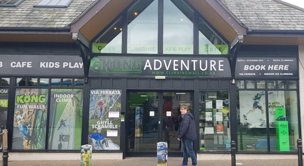 Located in Kong Adventure - Mountain Mayhem by Kong Escape Room, Keswick escape room review by BeckyBecky Blogs