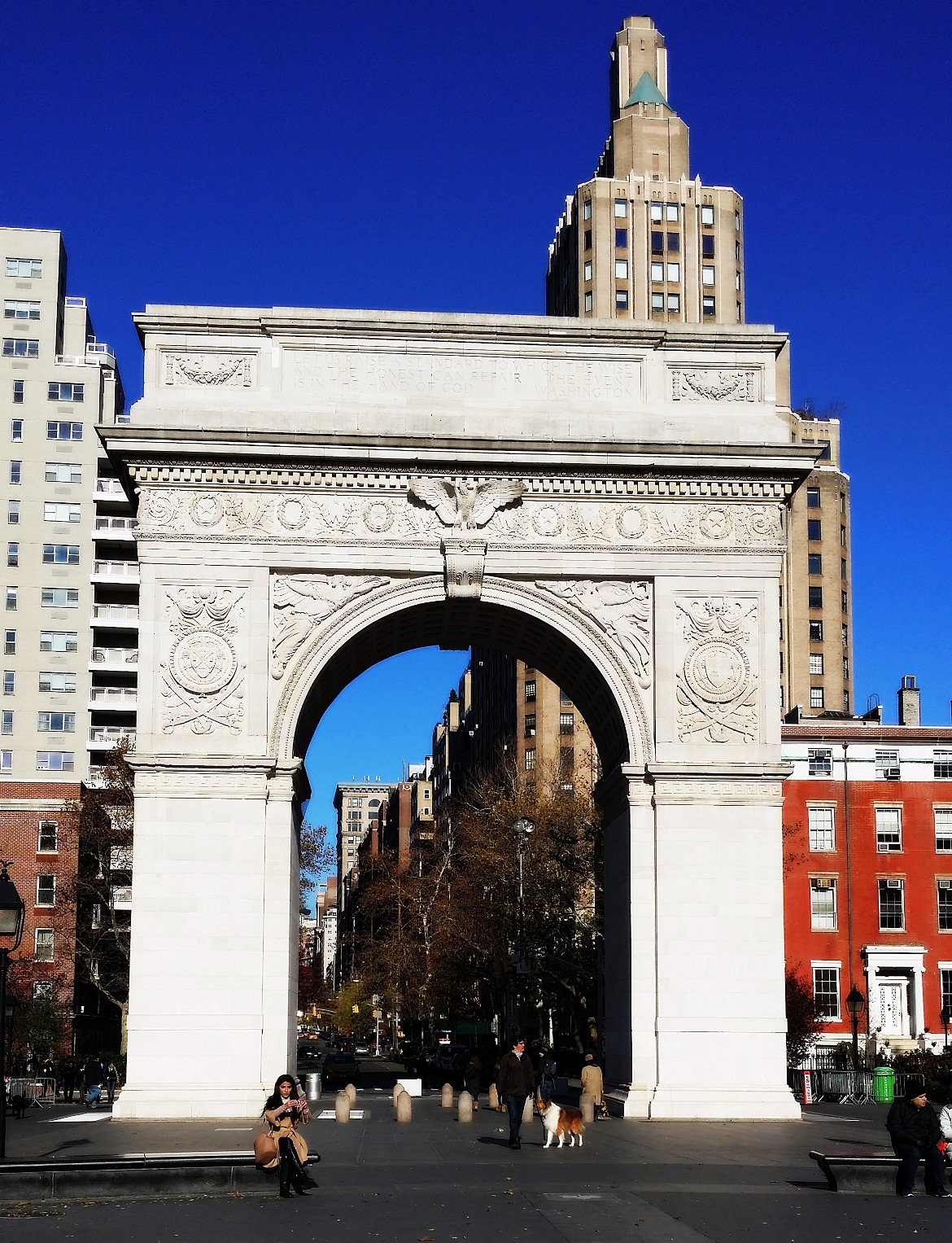 Washington Square Park - New York New York, travel blog by BeckyBecky Blogs