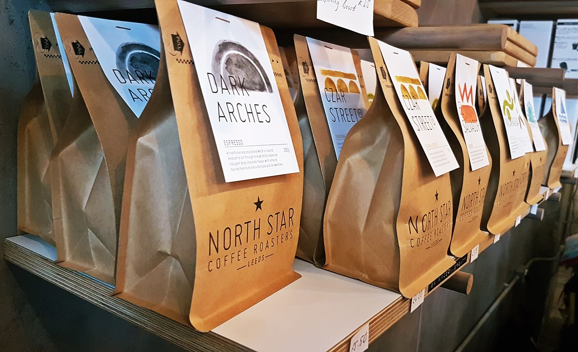Freshly ground coffee at North Star General Store - Review of North Star Coffee Shop by BeckyBecky Blogs
