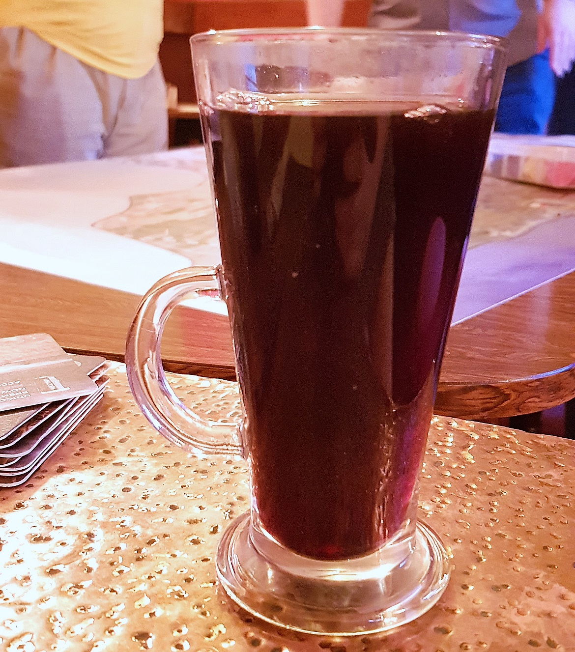 Mulled wine at Briton's Protection in Manchester - November Monthly Recap by BeckyBecky Blogs