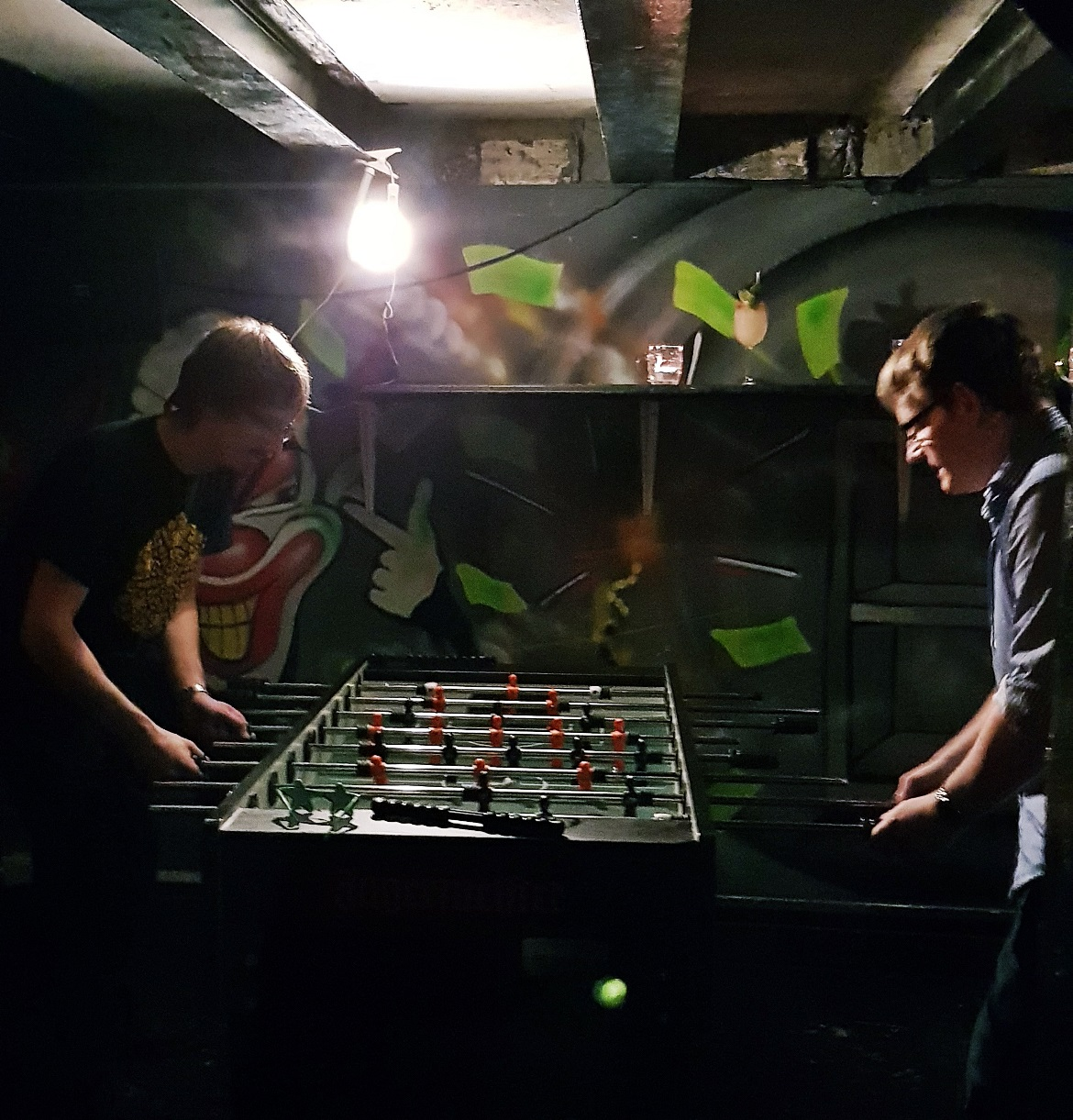 Foosball at London Cocktail Club - October Monthly Recap by BeckyBecky Blogs