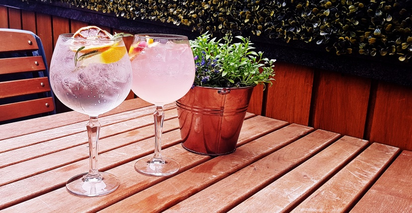 Gin & Tonic Plus at Pintura, Bar Review by BeckyBecky Blogs