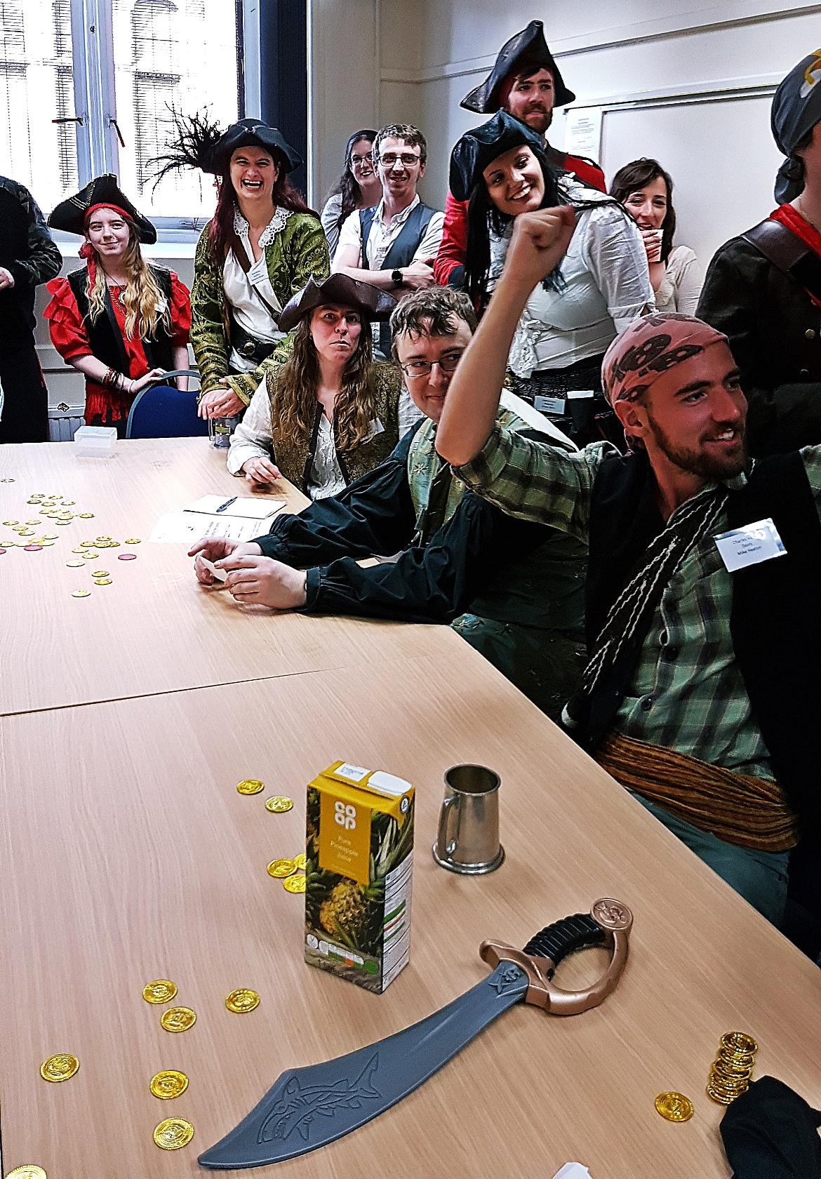 A council meeting - The Pirate Republic Megagame After Action Report by BeckyBecky Blogs