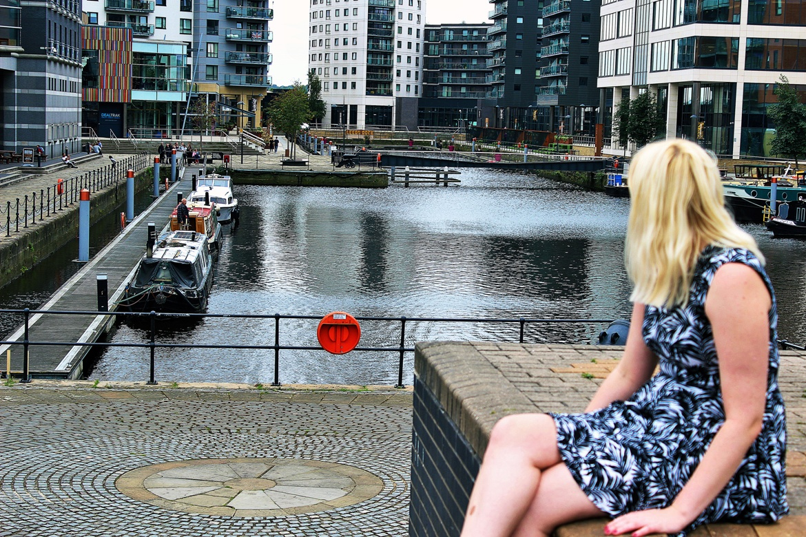 Photo from my free blogger photo shoot at Leeds Dock - August 2017 Recap by BeckyBecky Blogs