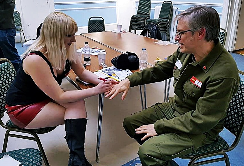 Removing fingers - Red Dawn Megagame After Action Report by BeckyBecky Blogs