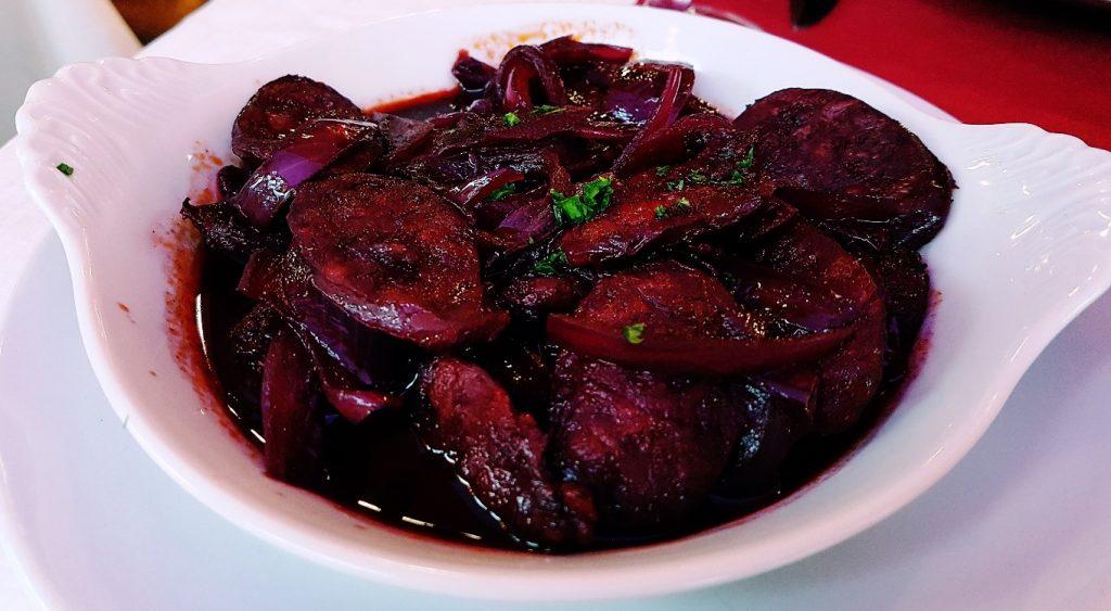 Chorizo al vino - Rocio Restaurant Review