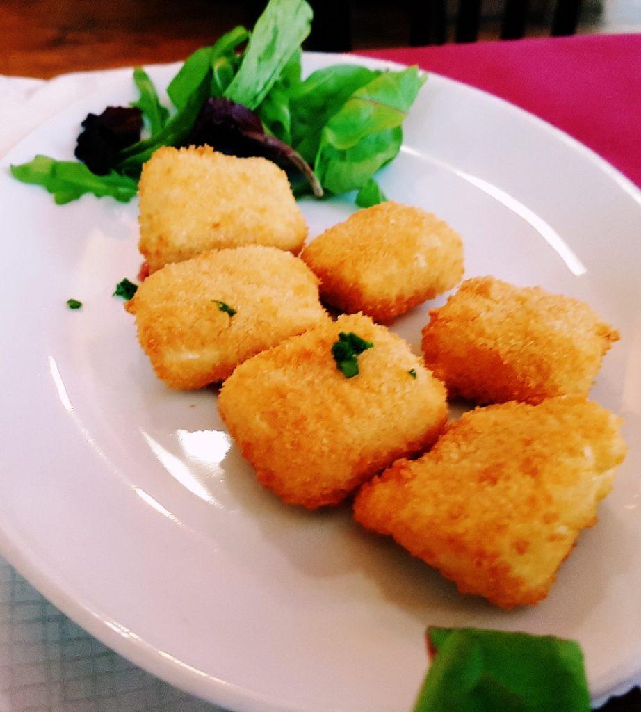 Croquetas de queso - Rocio Restaurant Review