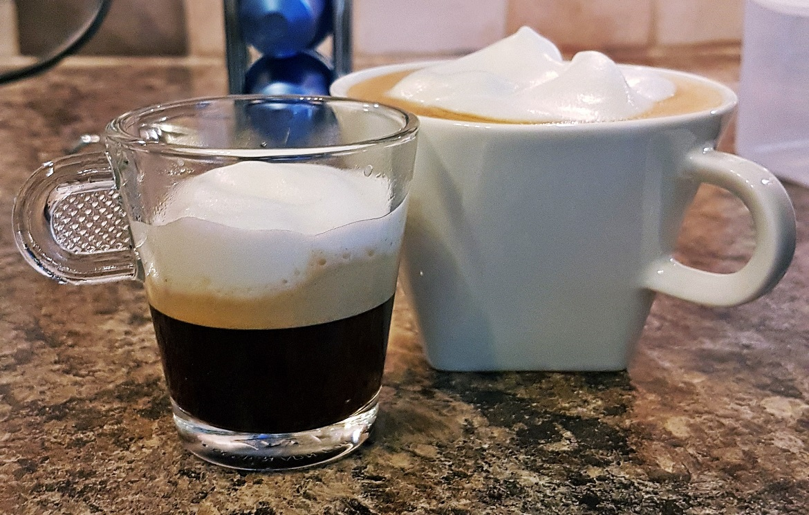 Frothy Nespresso coffees - September Monthly Recap by BeckyBecky Blogs