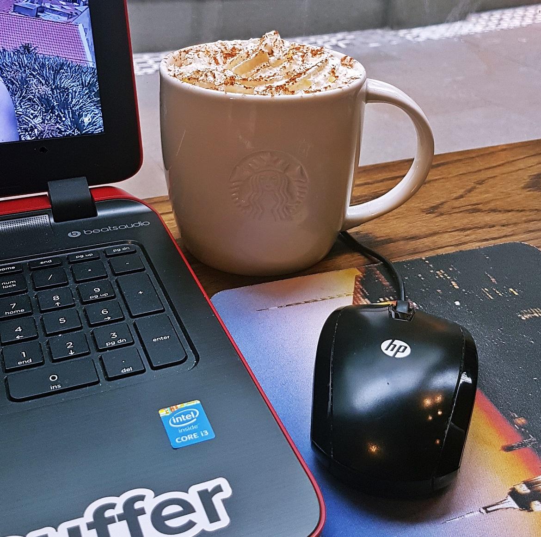 My first Pumpkin Spice Latte - September Monthly Recap by BeckyBecky Blogs