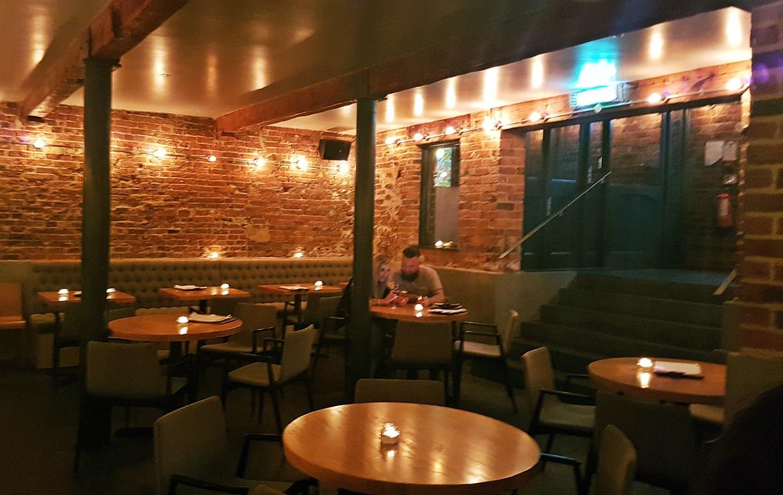 Bar area of Shears Yard - Restaurant Review of Shears Yard, Leeds Restaurant Week menu by BeckyBecky Blogs