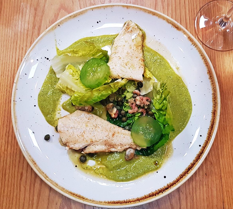 Grilled plaice - Restaurant Review of Shears Yard, Leeds Restaurant Week menu by BeckyBecky Blogs