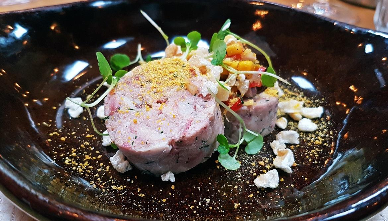 Ham hock terrine - Restaurant Review of Shears Yard, Leeds Restaurant Week menu by BeckyBecky Blogs