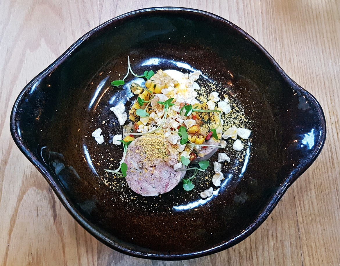 Ham hock terrine - Restaurant Review of Shears Yard, Leeds Restaurant Week menu by BeckyBecky Blogs