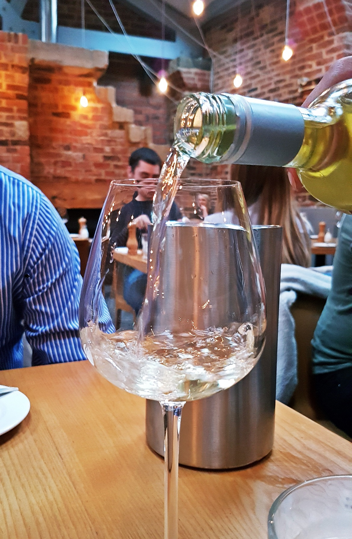 Verdejo wine - Restaurant Review of Shears Yard, Leeds Restaurant Week menu by BeckyBecky Blogs