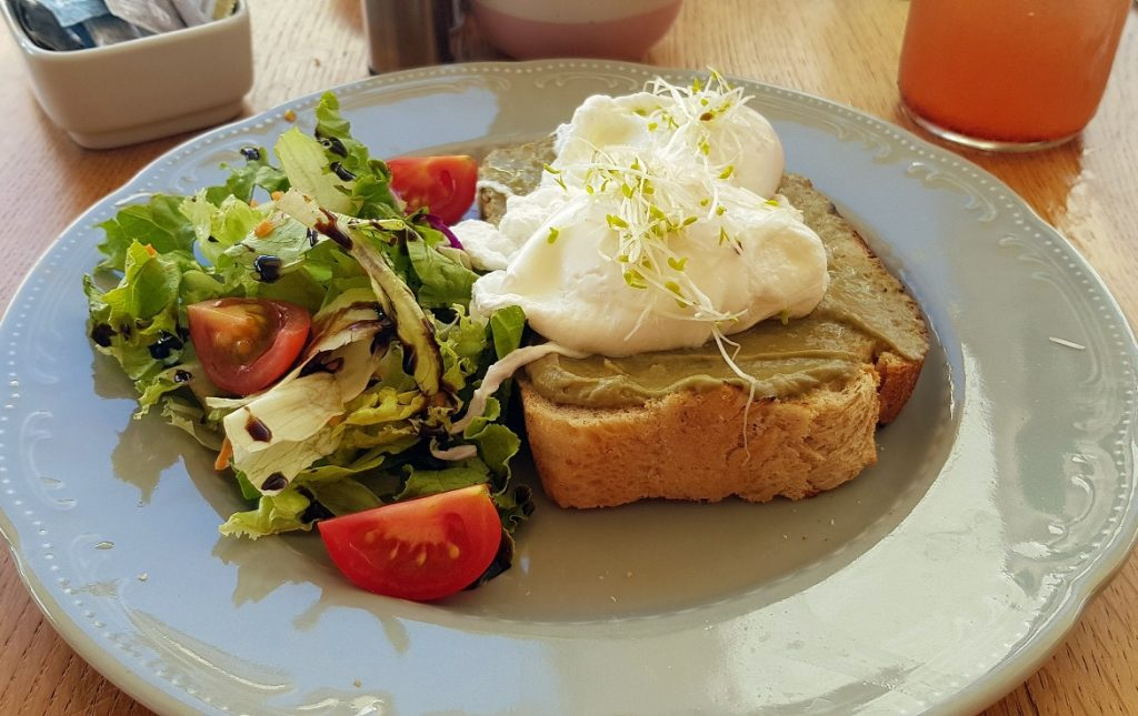 Avocado toast at Bepa! - Eating Split, Croatia Travel blog by BeckyBecky Blogs