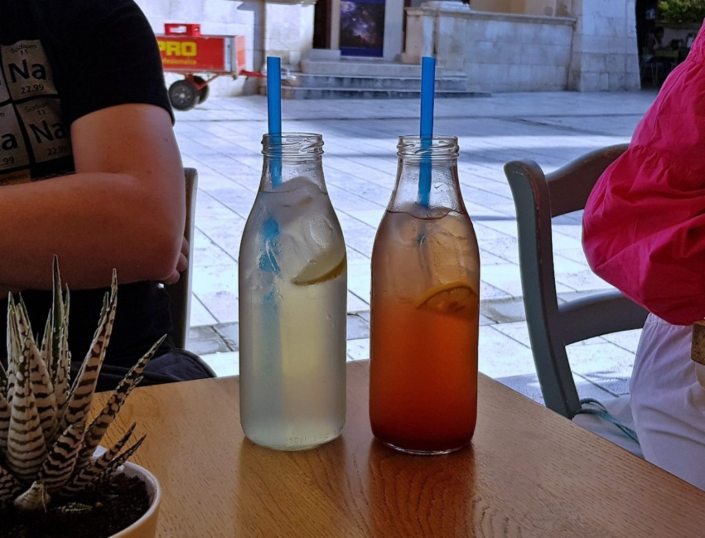 Lemonade at Bepa! - Eating Split, Croatia Travel blog by BeckyBecky Blogs