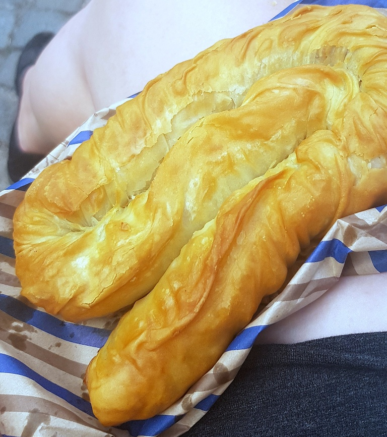 Burek - Eating Split, Croatia Travel blog by BeckyBecky Blogs