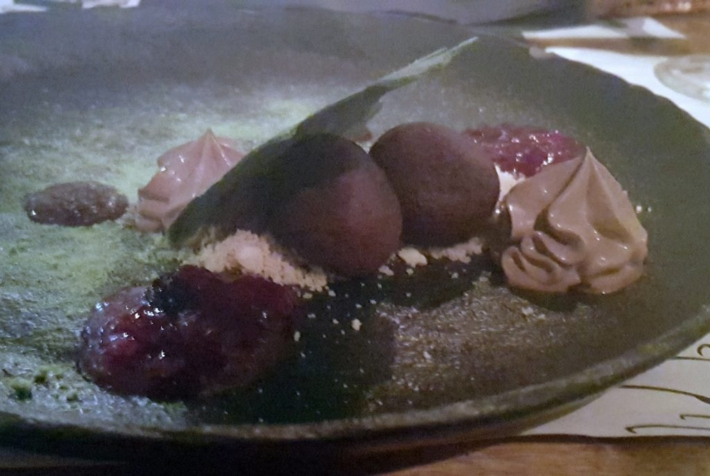 Deconstructed chocolate cake at Corto Maltese - Eating Split, Croatia Travel blog by BeckyBecky Blogs