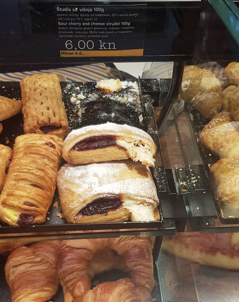 Pastries - Eating Split, Croatia Travel blog by BeckyBecky Blogs