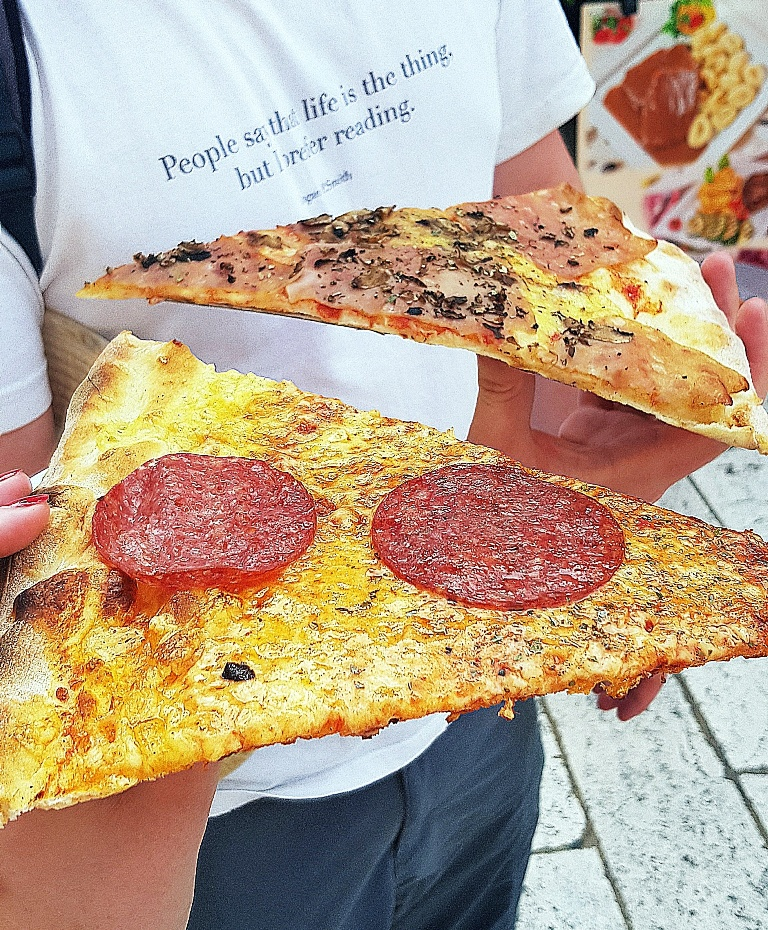 Pizza - Eating Split, Croatia Travel blog by BeckyBecky Blogs
