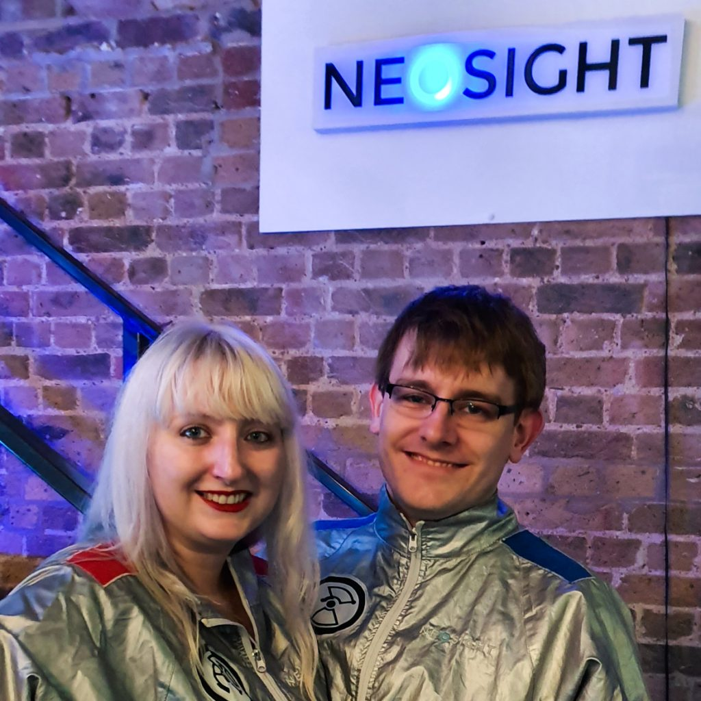 Bomber jackets - The Grid, Cocktail Escape Room in London, review by BeckyBecky Blogs