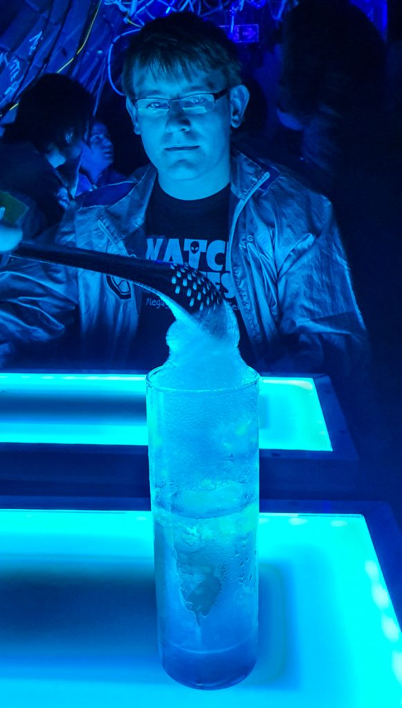 Cocktail two - The Grid, Cocktail Escape Room in London, review by BeckyBecky Blogs