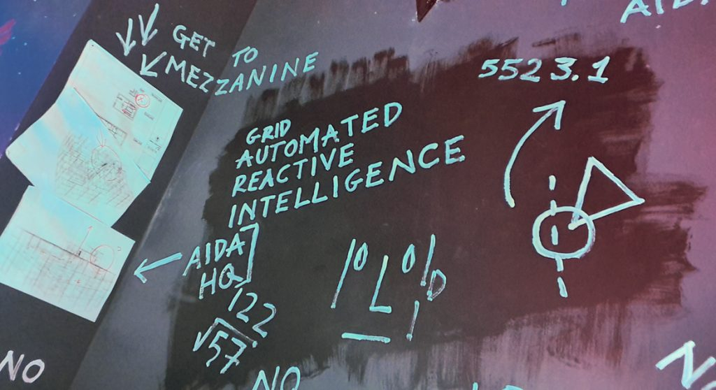 Graffiti - The Grid, Cocktail Escape Room in London, review by BeckyBecky Blogs