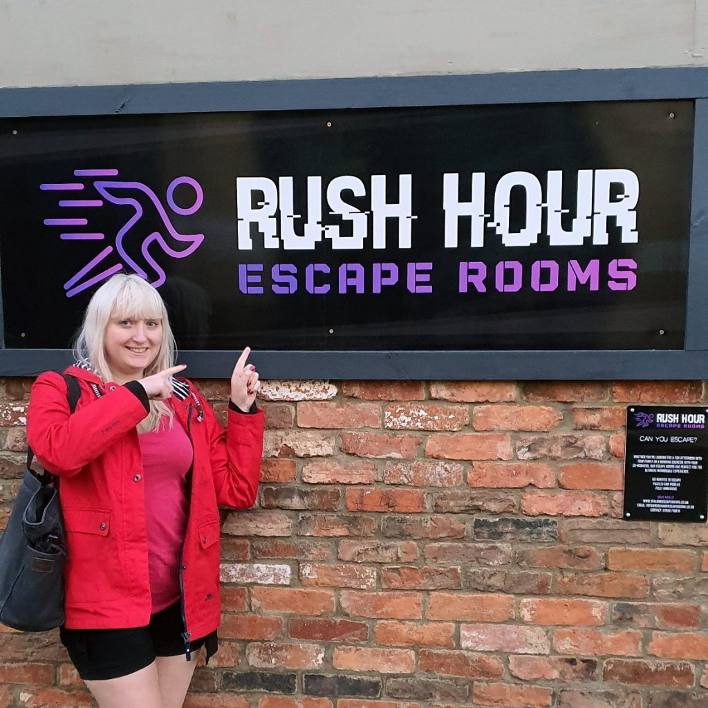 Rush Hour Escape Rooms - The Infected at Rush Hour Escape Rooms, Spalding escape room review by BeckyBecky Blogs