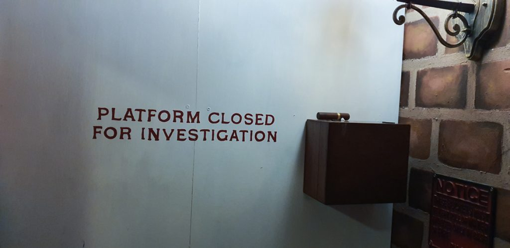 Platform closed - Station X escape room by TimeTrap Reading, review by BeckyBecky Blogs