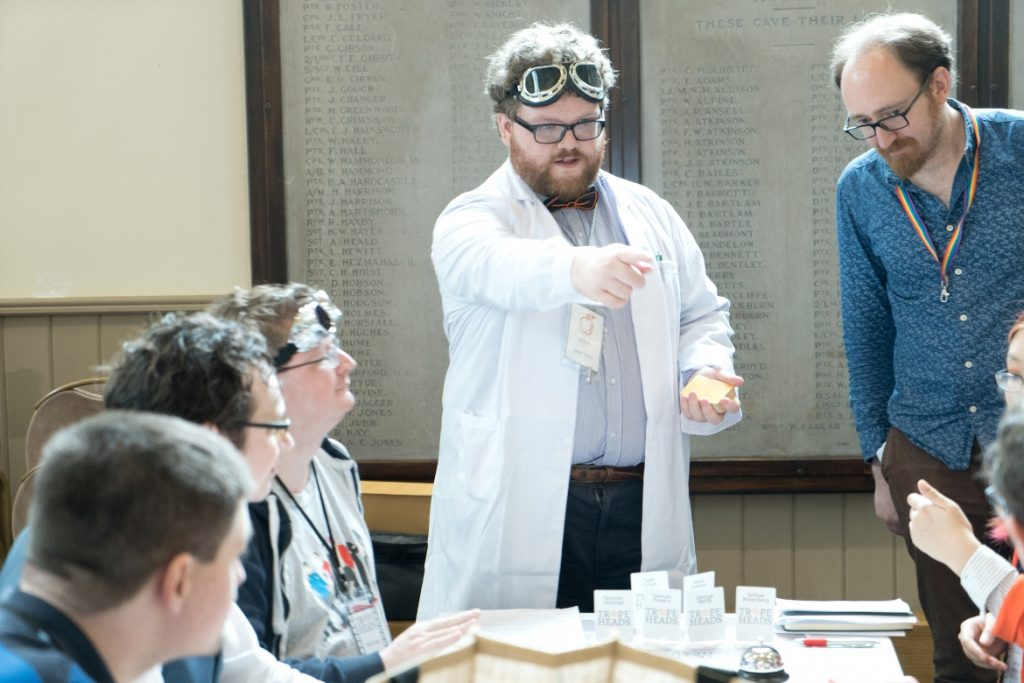 Academic Decathlon - Trope High Megagame in Photos by BeckyBecky Blogs