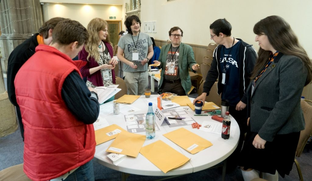 School Band - Trope High Megagame in Photos by BeckyBecky Blogs