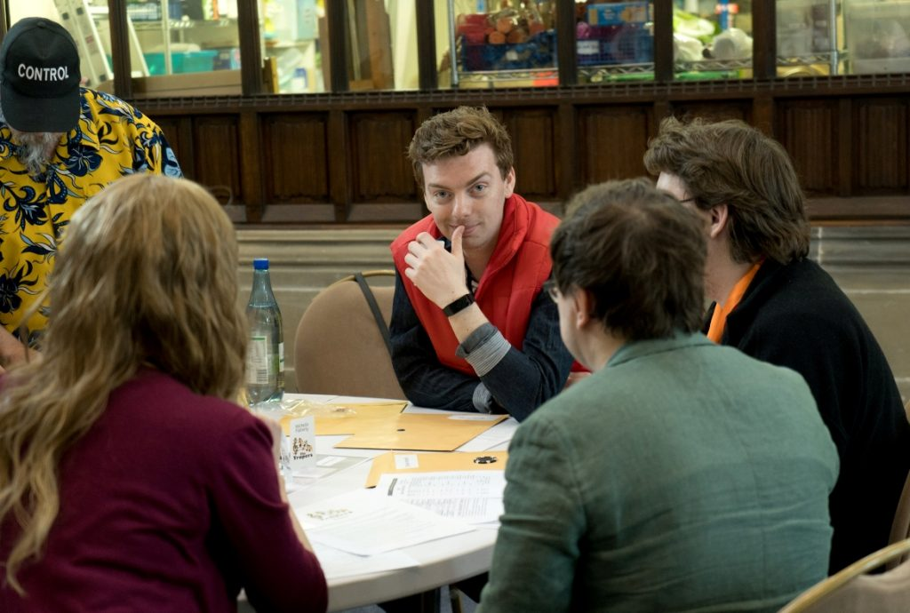 Marty McFly - Trope High Megagame in Photos by BeckyBecky Blogs